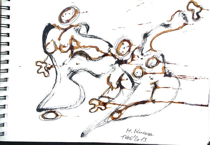 Marc Nucera - Dessin - Carnet